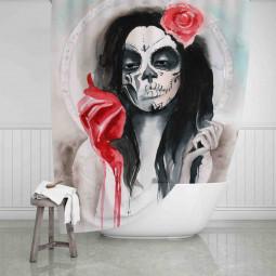 Завеса за баня - Дама купа