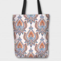 Текстилна торбичка - Арт винтидж