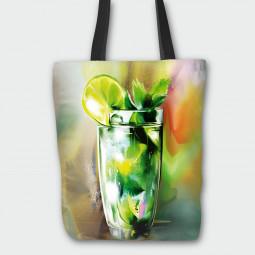 Текстилна торбичка - Мохито