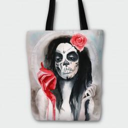 Текстилна торбичка - Дама купа