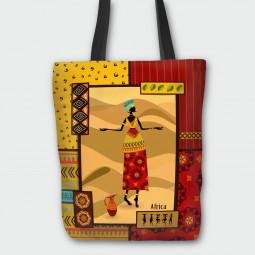 Текстилна торбичка - Африка