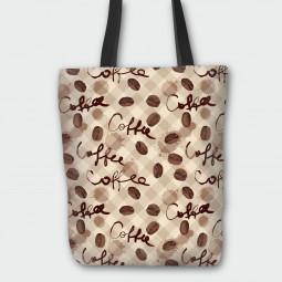 Текстилна торбичка - Кафе