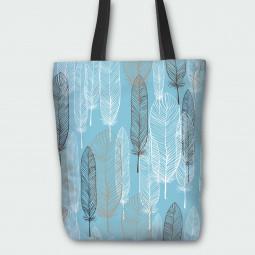 Текстилна торбичка - Пера
