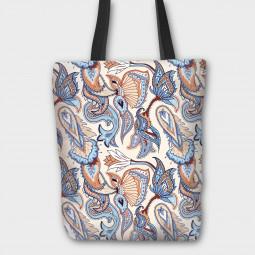 Текстилна торбичка - Пейсли