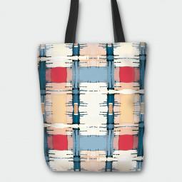 Текстилна торбичка - Арт карета
