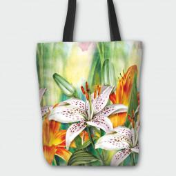 Текстилна торбичка - Лилиум