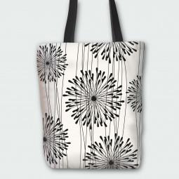 Текстилна торбичка - Глухарчета