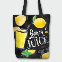 Текстилна торбичка - Лимонов сок