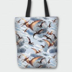 Текстилна торбичка - Птеродактил