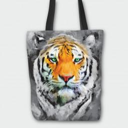 Текстилна торбичка - Тигър