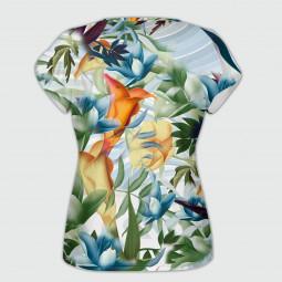 Дамска тениска с къс ръкав - Тропик