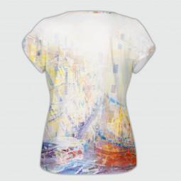 Дамска тениска с къс ръкав - Венеция