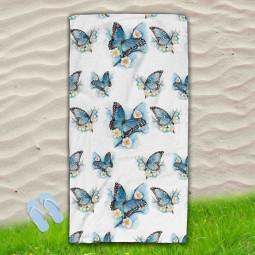 Постелка за Плаж - Пеперуди