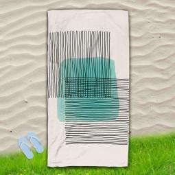 Постелка за Плаж - Абстракция