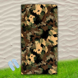 Постелка за Плаж - Military