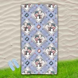 Постелка за Плаж - Сладко слонче