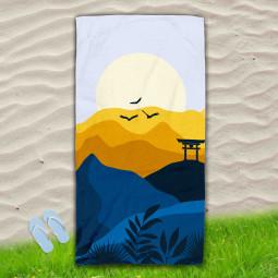 Постелка за Плаж - Японски изгрев