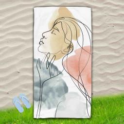 Постелка за Плаж - Жена