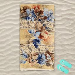 Плажна хавлиена кърпа - Есенни пастели