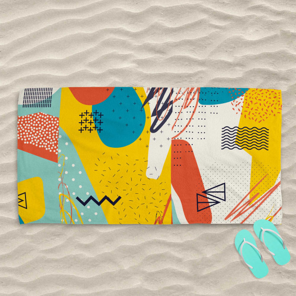 Плажна хавлиена кърпа - Утопия