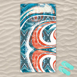 Плажна хавлиена кърпа - Изумление