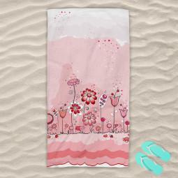 Плажна хавлиена кърпа - Детски спомен