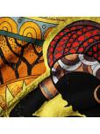Плажна хавлиена кърпа - Африкански ритми