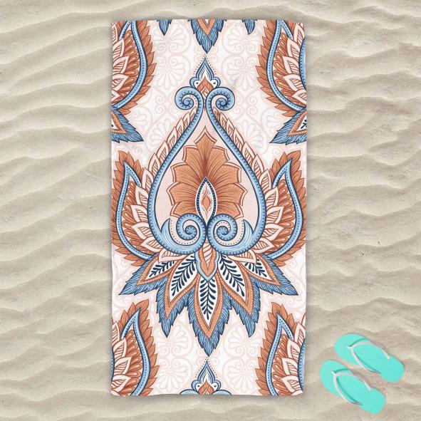 Плажна хавлиена кърпа - Арт винтидж