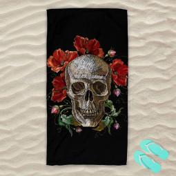Плажна хавлиена кърпа - Макове