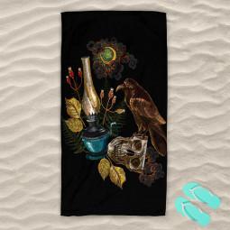Плажна хавлиена кърпа - Здрач