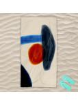 Плажна хавлиена кърпа - Силует