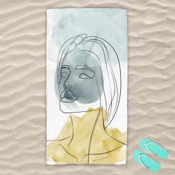 Плажна хавлиена кърпа - Мигновение