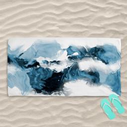 Плажна хавлиена кърпа - Прилив