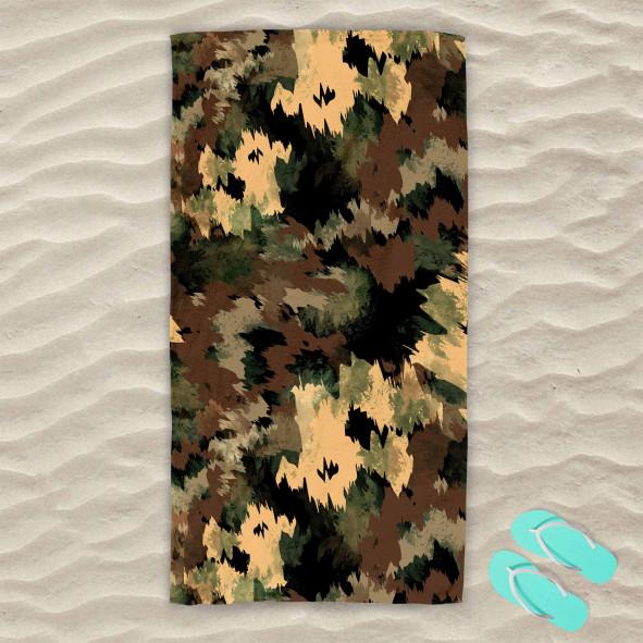 Плажна хавлиена кърпа - Military