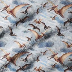 Плажна хавлиена кърпа - Птеродактил