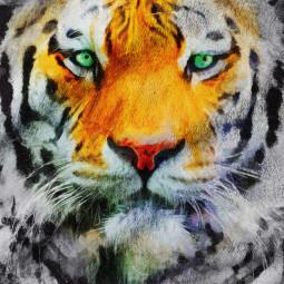 Плажна хавлиена кърпа - Тигър